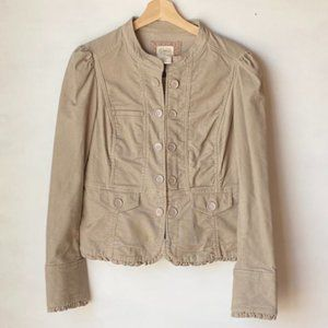 Anthropologies Cidra Corduroy Jacket. Size: 10.